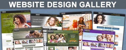 DENTAL WEBSITE DESIGN GALLERY