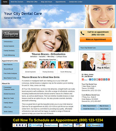 Dental Website Designs - Sample 22