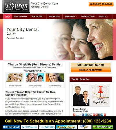 Dental Website Designs - Sample 27
