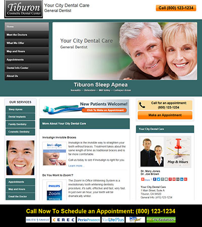 Dental Website Designs - Sample 36