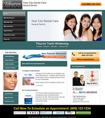 Dental Website Designs - Sample 29