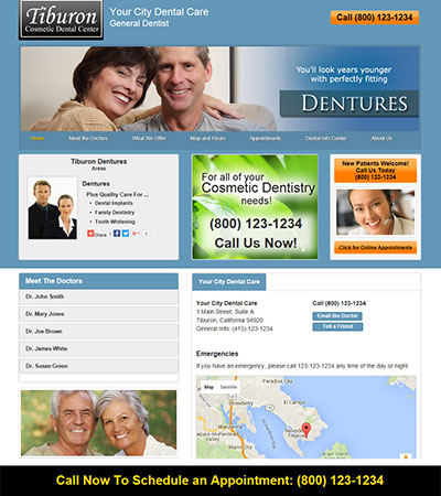 Dental Website Designs - Sample 16