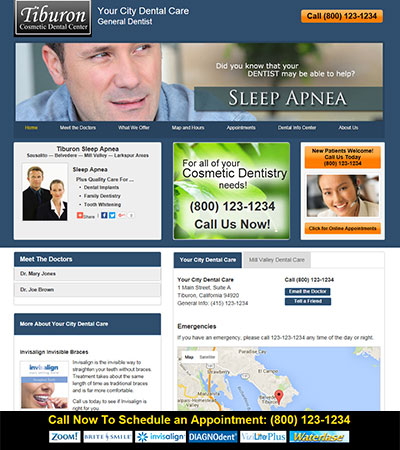 Dental Website Designs - Sample 34