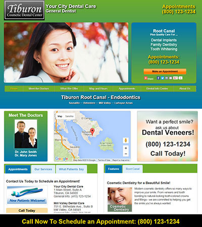 Dental Website Designs - Sample 17