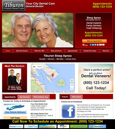 Dental Website Designs - Sample 35
