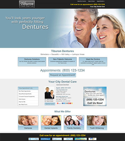 Dental Website Designs - Sample 13