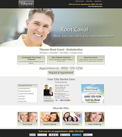 Dental Website Designs - Sample 18