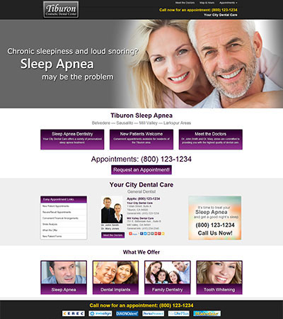 Dental Website Designs - Sample 33