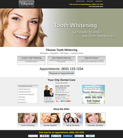 Dental Website Designs - Sample 30