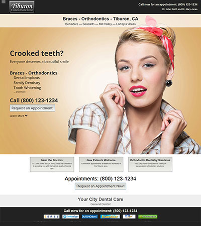 Dental Website Designs - Sample 21