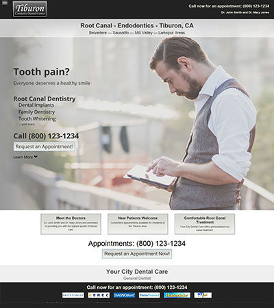 Dental Website Designs - Sample 19