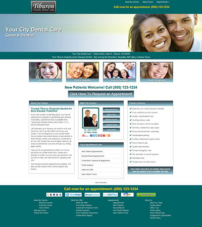 Dental Website Designs - Sample 28