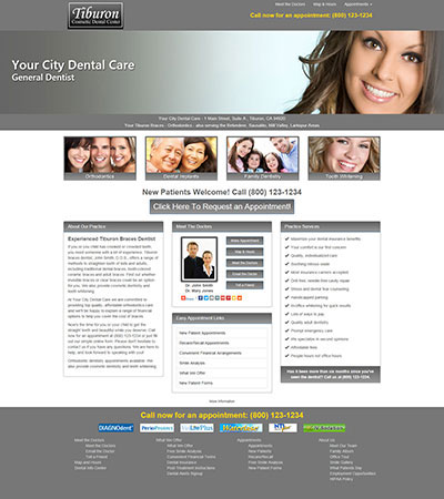 Dental Website Designs - Sample 23