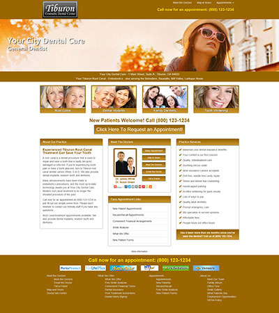 Dental Website Designs - Sample 20
